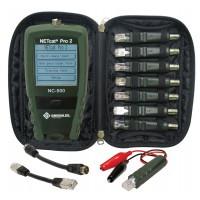Greenlee NC510-KIT - кабельный тестер NetCat Pro v2 с комплектом удаленных идентификаторов