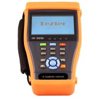 Tezter TIP-H-4.3 (ver.2) многофункциональный тестер для аналоговых и сетевых систем видеонаблюдения