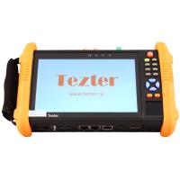 Tezter TIP-H-7 многофункциональный тестер для аналоговых и сетевых систем видеонаблюдения