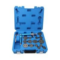 Инструмент сведения тормозных цилиндров пневматический (16 предметов) TA-B1075