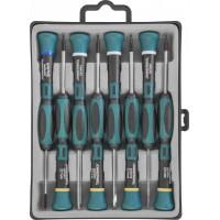 Набор отверток для точной механики, 50 мм, Torx, Т4-Т7 и крест PH#00, 8 предметов