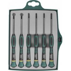 Набор отверток для точной механики TORX® Т5-Т10 6 предметов