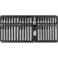 Набор вставок-бит 10 мм шестигранных H4-12 мм, Torx Т20-Т60, Spline М5-М12 (30 и 75 мм), 42 предмета