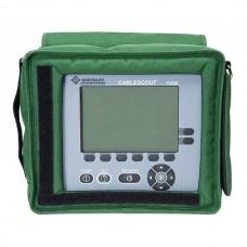 Greenlee CableScout TV220 - импульсный рефлектометр для диагностики коаксиальных кабелей (CATV)