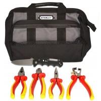 SK-16 B6 - набор изолированного инструмента электрика в сумке, 6 предметов