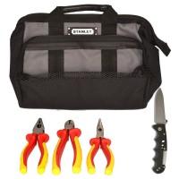 SK-16 B7 - набор изолированного инструмента электрика в сумке, 5 предметов