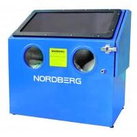 NORDBERG Камера пескоструйная NS1K настольная, боковая загрузка 110 л