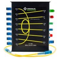 Greenlee LC-500 - компенсатор мертвой зоны 500м для SM волокна с адаптерами FC/UPC, SC/UPC, SC/APC, ST/UPC, LC/UPC, LC/APC