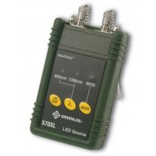Greenlee 570XL-ST - источник излучения (850/1300 нм) c фиксированным ST адаптером