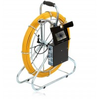 Katimex 104004M - система видеодиагностики трубопровода серии KIS-125 с цифровым измерителем длины и LCD дисплеем